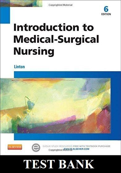 introduction to medical surgical nursing 6th edition linton test rh pinterest com Chemistry Study Guide Chemistry Study Guide