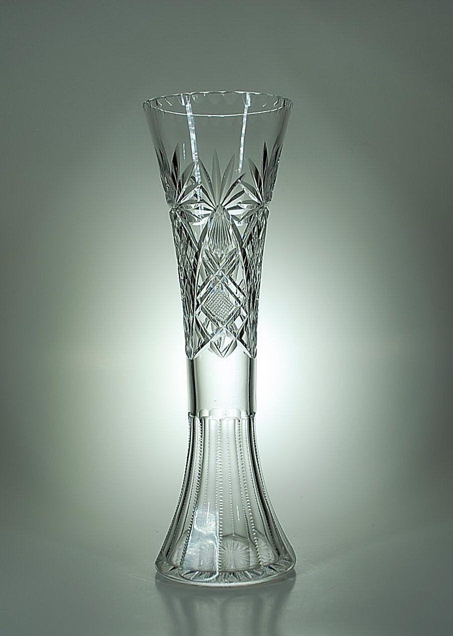 Val St Lambert - Vase Taillé n°85 - Catalogue 1908.