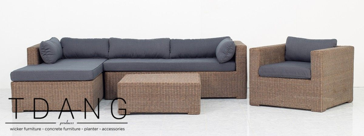 Sofa Sleeper This wonderfull Paula Wicker Garden Sofa Set will be a good addition to your patio
