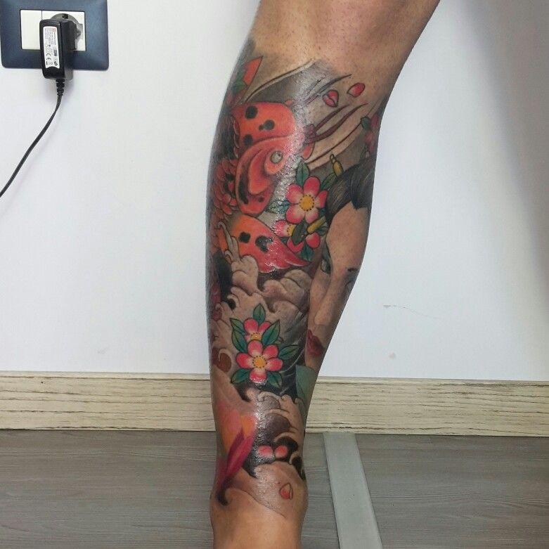 Tatuaggio giapponese geisha e carpa koi tattoo for Carpa giapponese prezzo