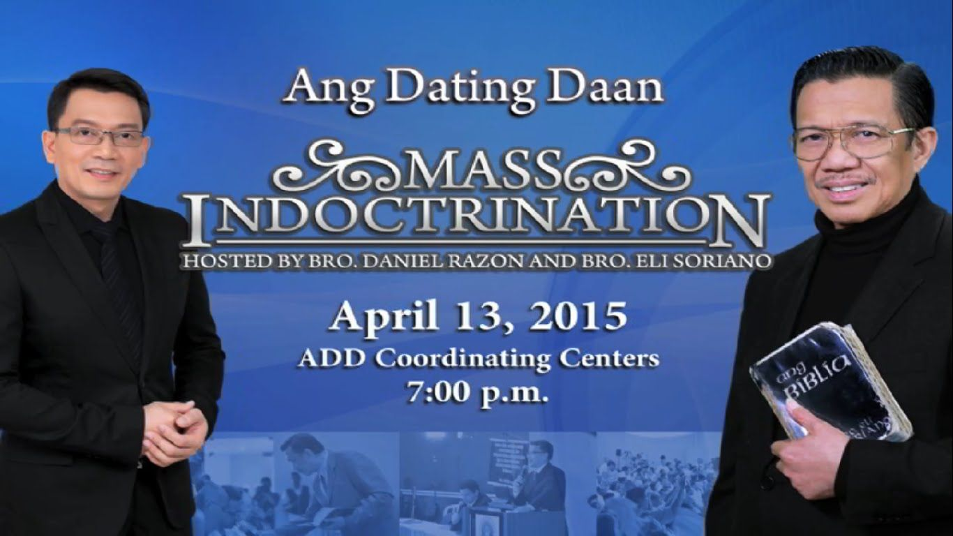 Ang Dating Daan False Belief Scriptures On Marriage
