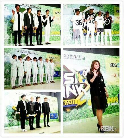 Ailee, SHINee, M.I.B, CNBlue and Infinite