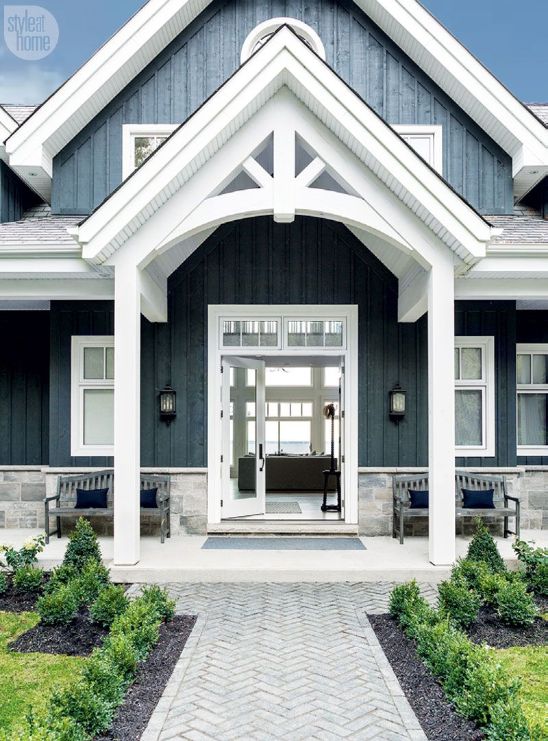 Rustic meets refined in this new-build family cottage | Pinterest ...