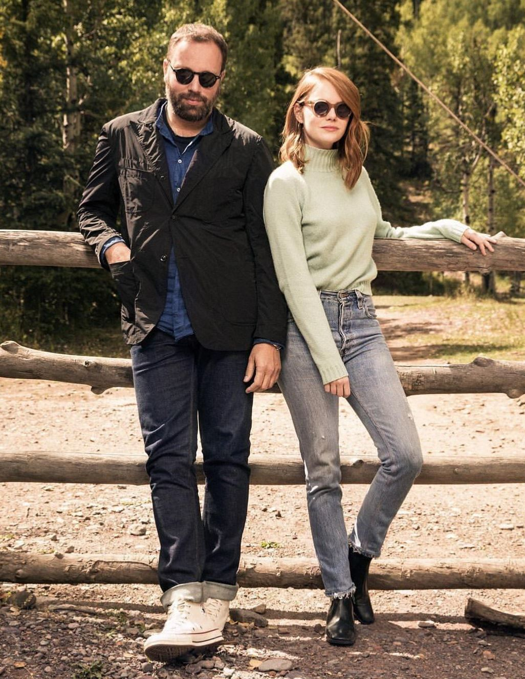 Pin By Indigo Junction On Celebrity Style Emma Stone Telluride Film Festival Film Festival