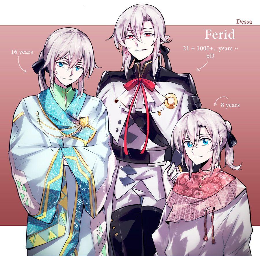 Owari no Seraph: Ferid X 3 by Dessa-nya