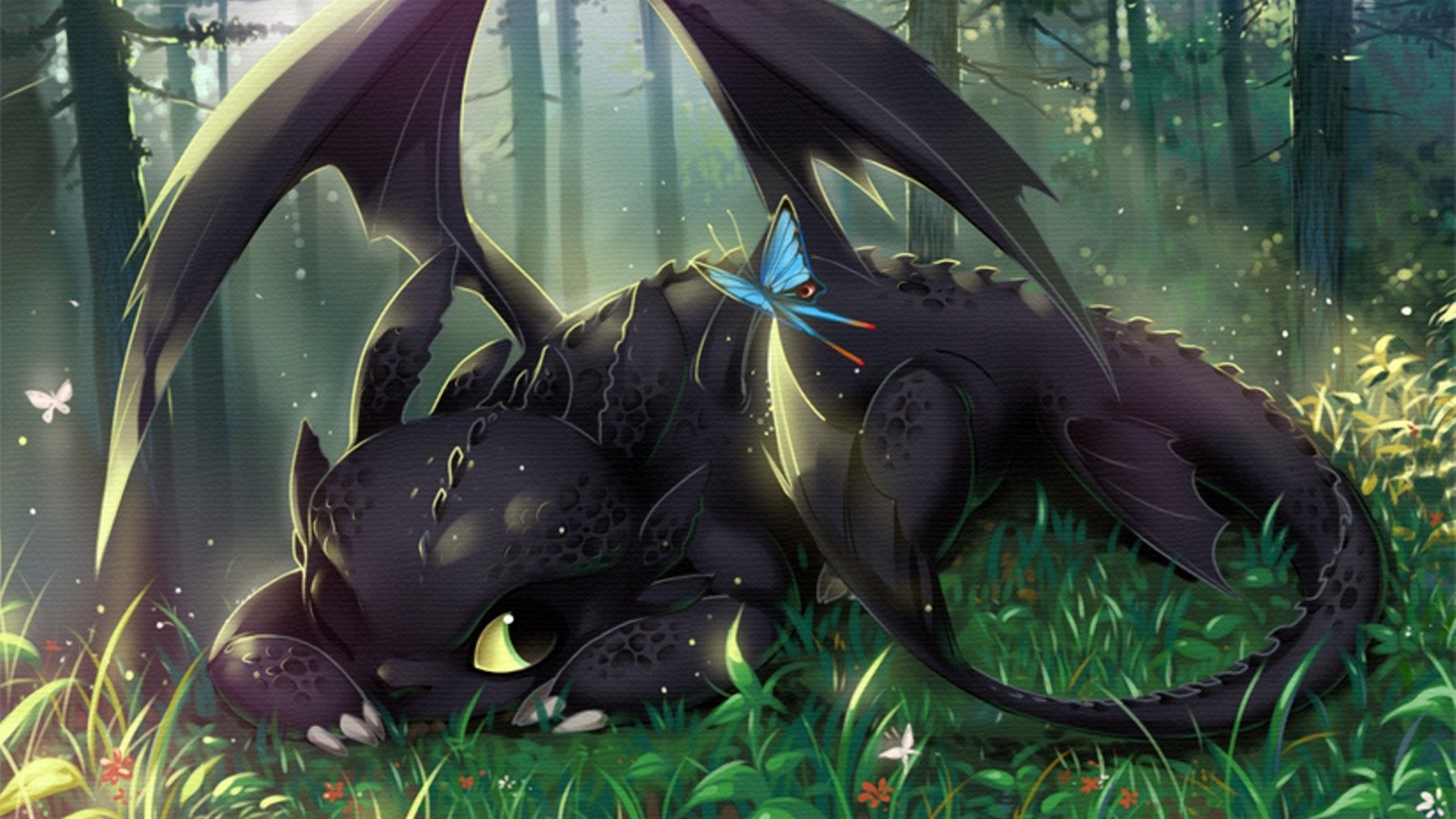 Toothless Wallpaper By SweetDevilStitch On DeviantArt 1920x1280 40 Wallpapers