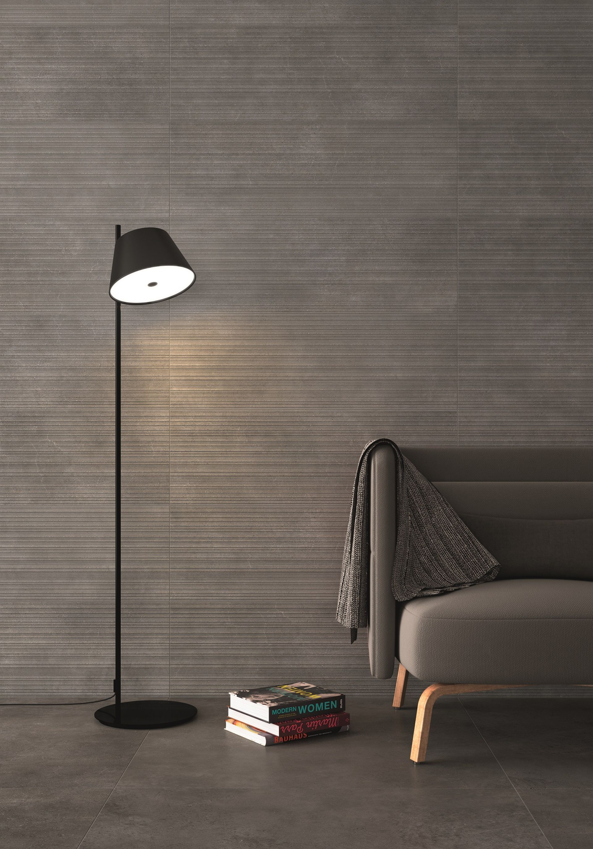 Gubi Anthracite Prints, New Wall Tiles For Our Gubi Collection, Minimalist  And Modern,