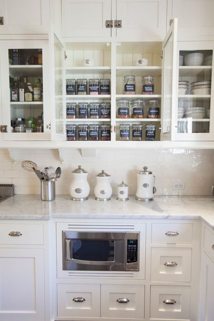 Create Your Own Checklist for a Well-Stocked Kitchen Traditional Kitchen by Neat Method San Diego