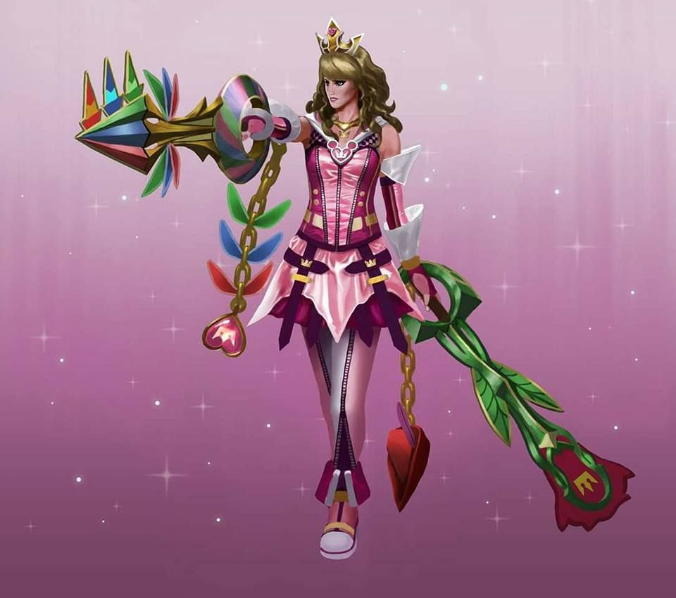Aurora As Kingdom Hearts Character Disney Pinterest Princesse