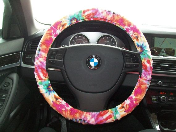 Tie Dye Steering Wheel Cover Tye Dye Heaven Delta Zeta