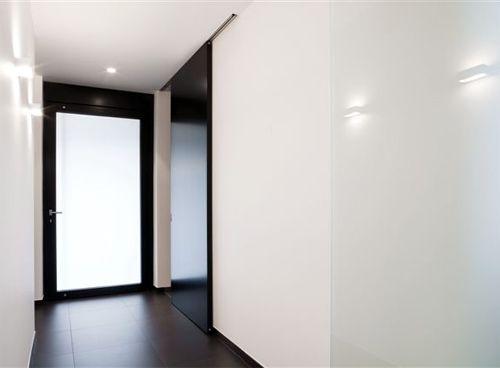 Porte intérieure en verre u2022 moderne u2022 cloison coulissant u2022 Photo