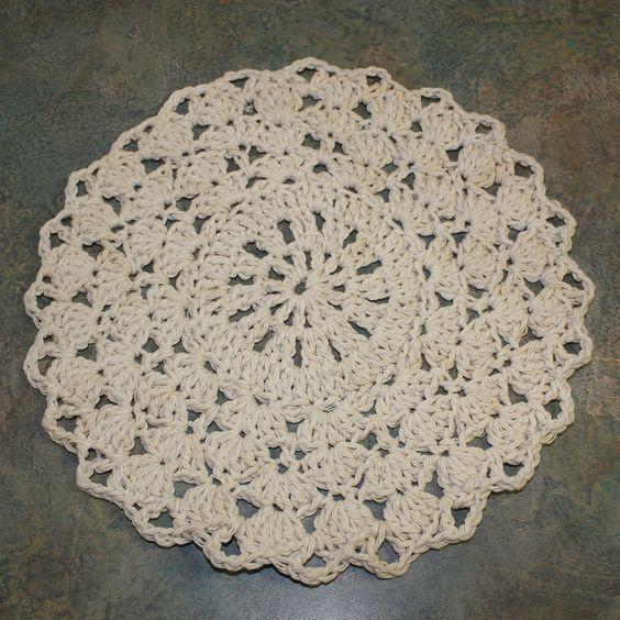 Crochet Doilies Patterns For Beginners Easy Crochet Knit