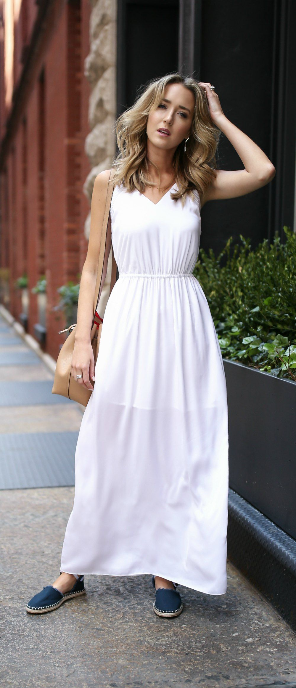 The summer wardrobe staples you need simple white maxi dress