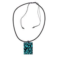 "The bold swirls of a tribal tattoo are given a feminine spin with this bohemian fashion necklace. Adding cool surfer style to any outfit, this funky necklace practically sings, ""summer fun!"".  $7.00"