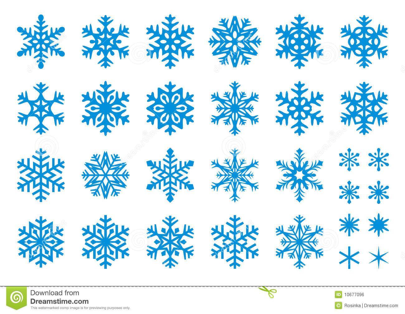 Snow Flake Set