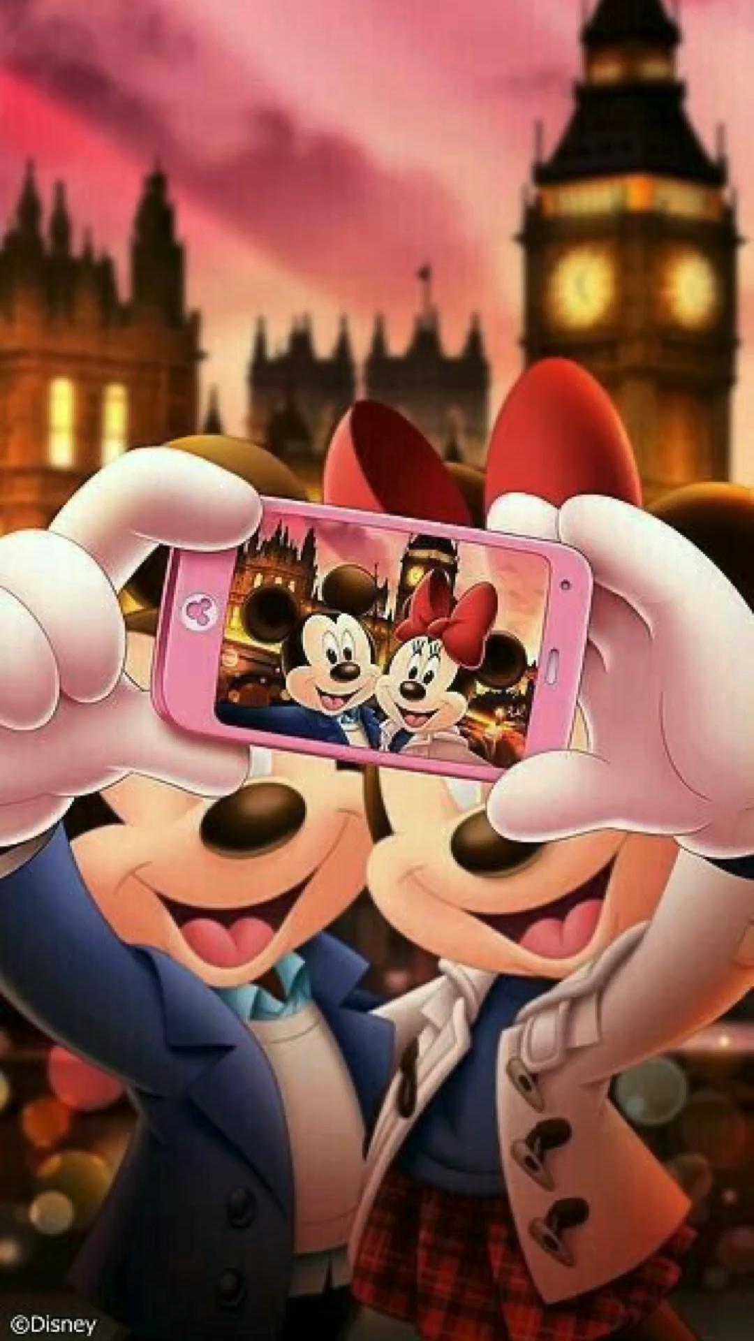 Wallpaper Mickey & Minnie