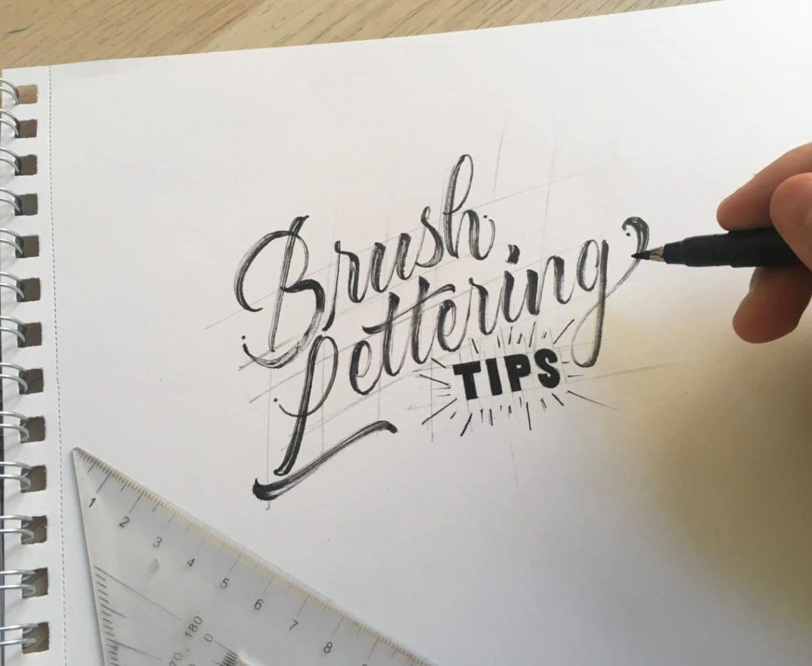 5 Easy Brush Lettering Tips