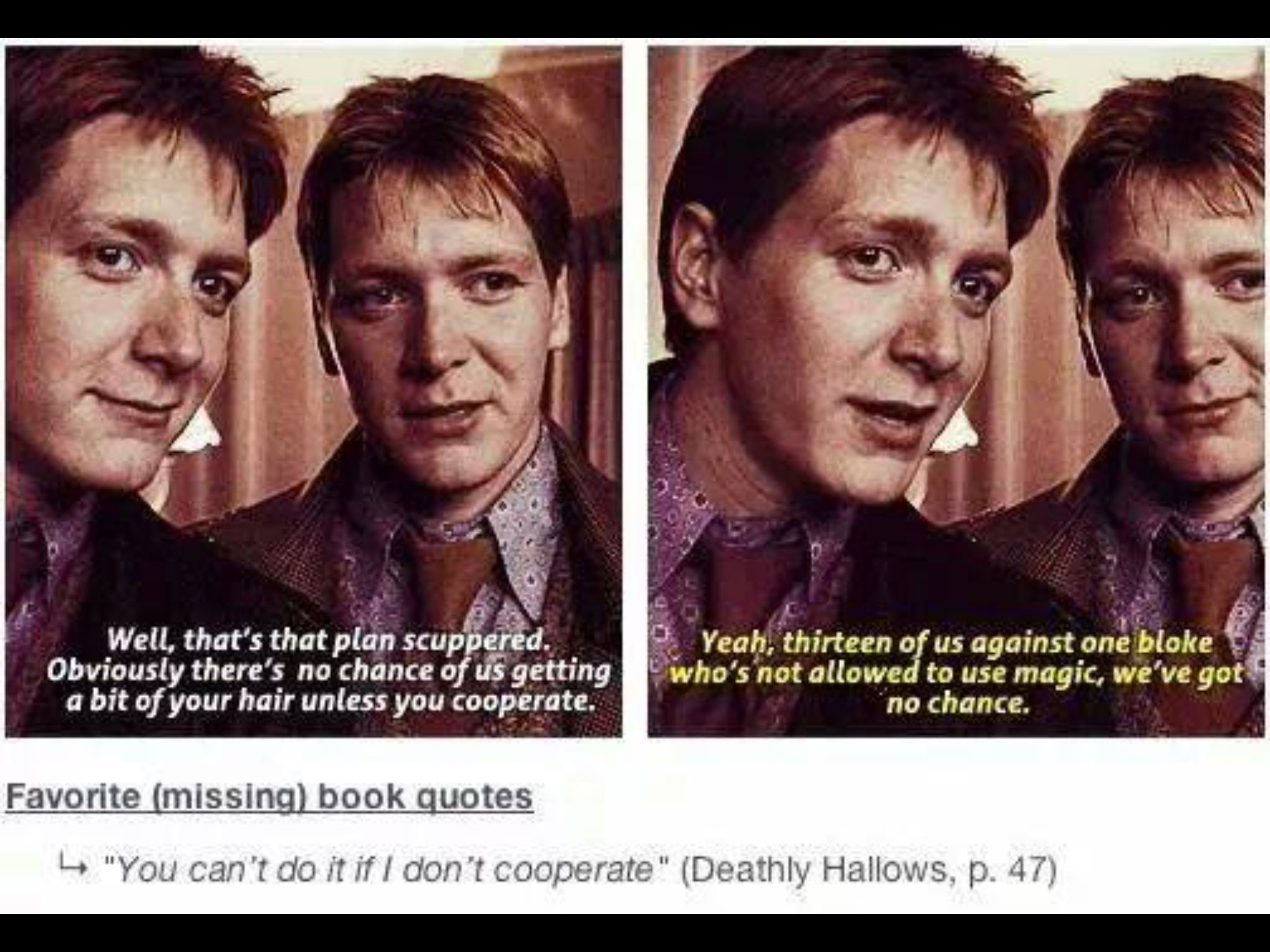 Things That Should Have Been In The Movies Harry Potter Love Harry Potter Movies Harry Potter Funny