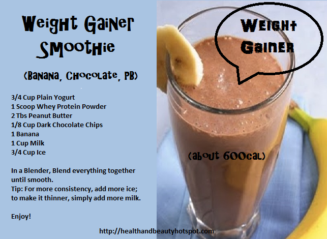 Homemade Weight Gainer Without Milk – Homemade Ftempo