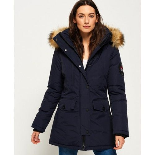Superdry - Manteau Ashley Everest - Vestes et manteaux pour Femme ... 0a2c3159362