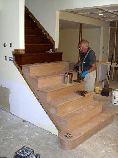 Awesome Basement Stairs Ideas | Basement Stair Construction Pictures