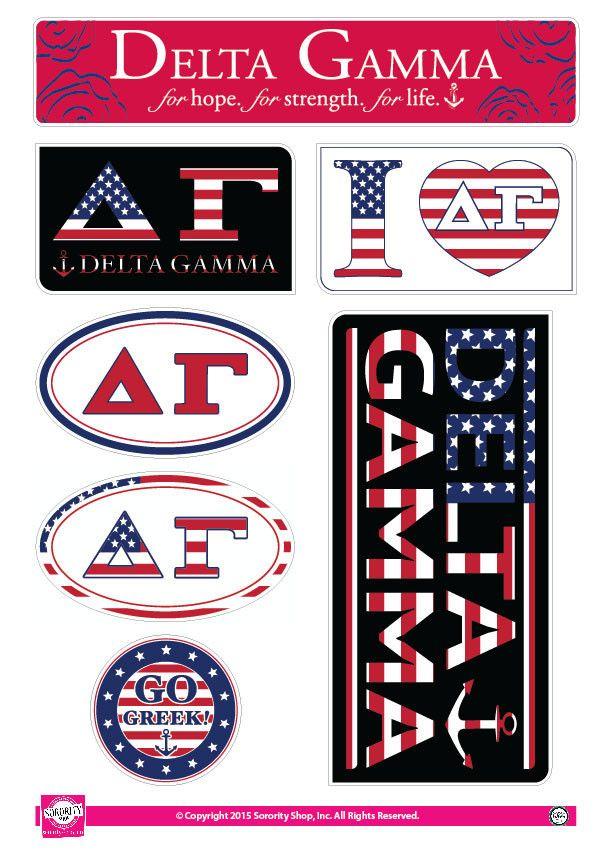 Delta Gamma Animal Print Stickers Delta Gamma Decals Pinterest