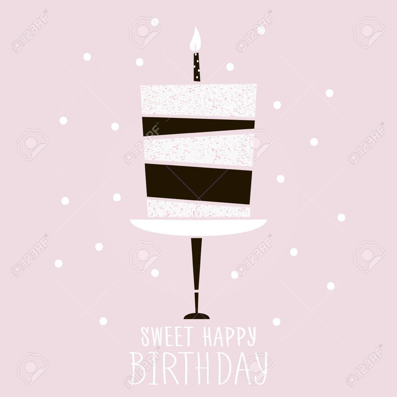 Modern Birthday Card Template Birthday Card Template Birthday
