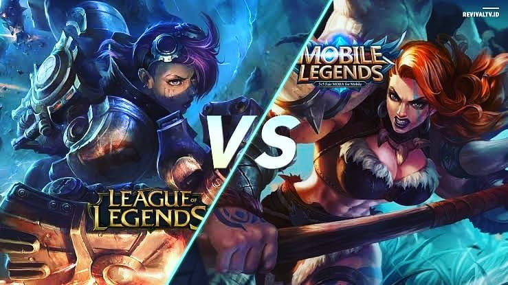 Leagueoflegends Vs Mobilelegends Leagueoflegends Vs Mobilelegends Mobile Legends League Of Legends League
