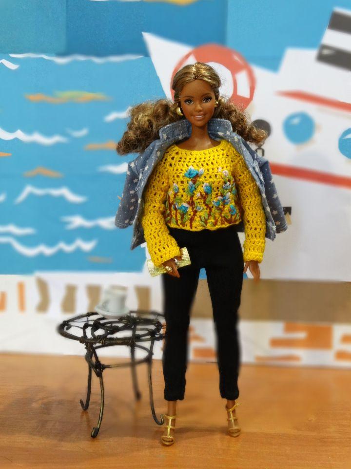 О жизни кудрявой девчонки / Куклы Барби, Barbie: коллекционные и игровые / Бэйбики. Куклы фото. Одежда для кукол