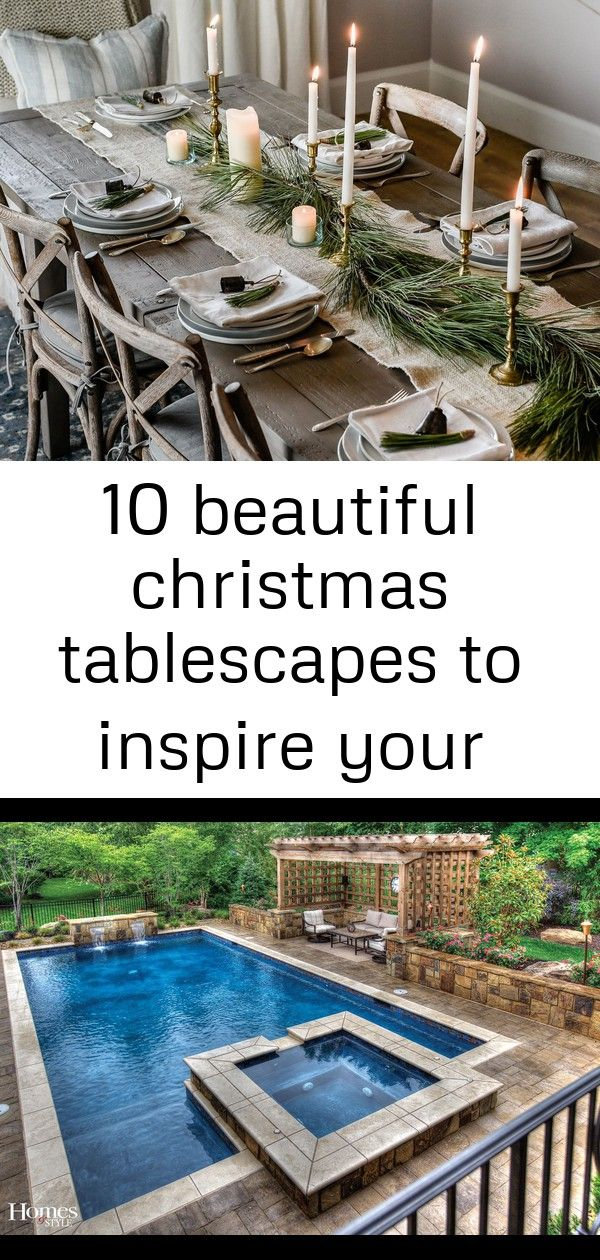 10 beautiful christmas tablescapes to inspire your holiday decorating 1 #pooloutfitideas