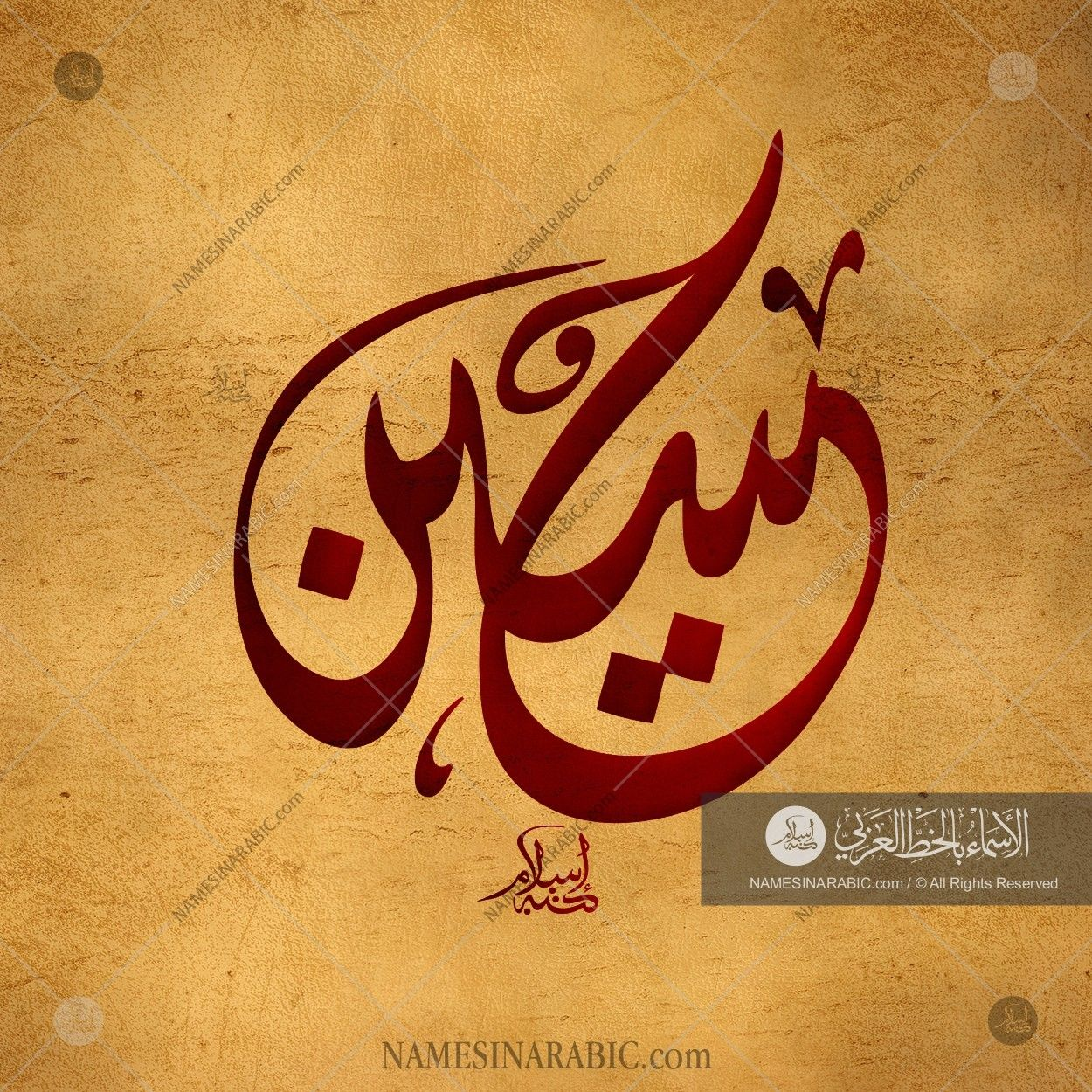 Hussain Name In Arabic Calligraphy Lettering Alphabet Islamic Calligraphy Calligraphy Name