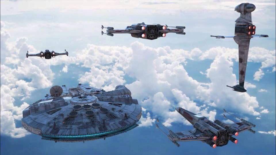 Rebel ships