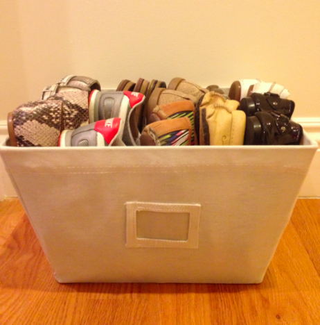 Organizing shoes   NEAT Method :: organizing tips!