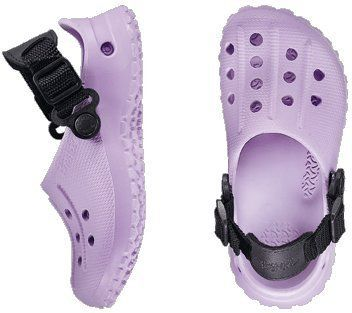 dca542b4d7d4 Birkis clogs Fun Air Back Strap from Alpro-Cell in Lavender with a narrow  insole. DřevákyLevanduleDívkyBirkenstock