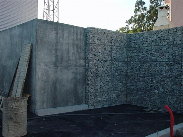 Gaviones para decoracion gabion pinterest gaviones - Panel piedra precios ...