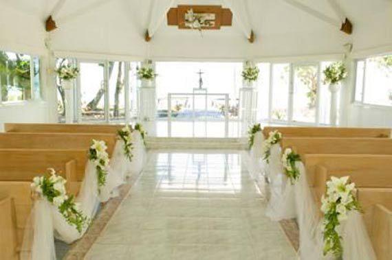 Floral Church Wedding Decoration Ideas (3) | Church Decorations ...