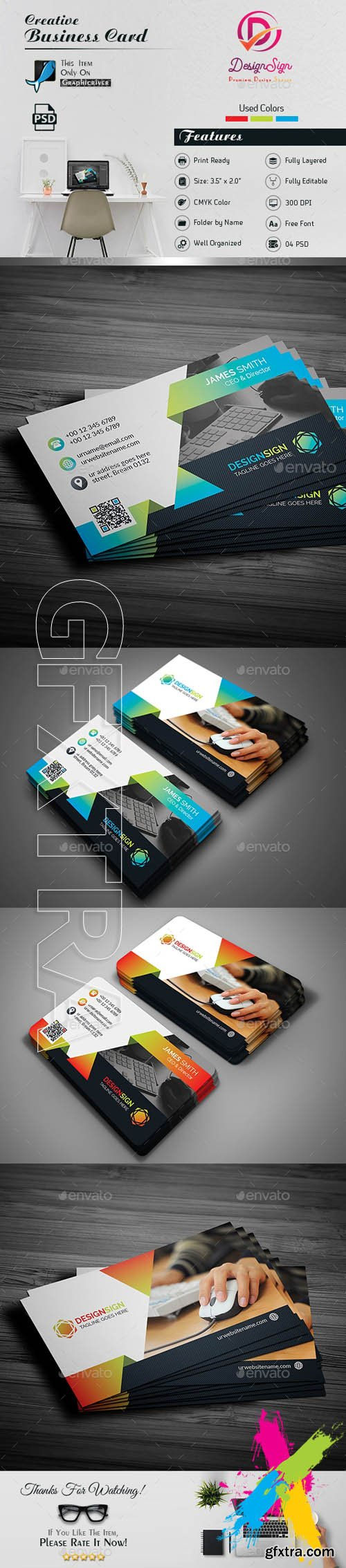 Graphicriver attractive business card 20189739 gfxtra graphicriver attractive business card 20189739 reheart Choice Image