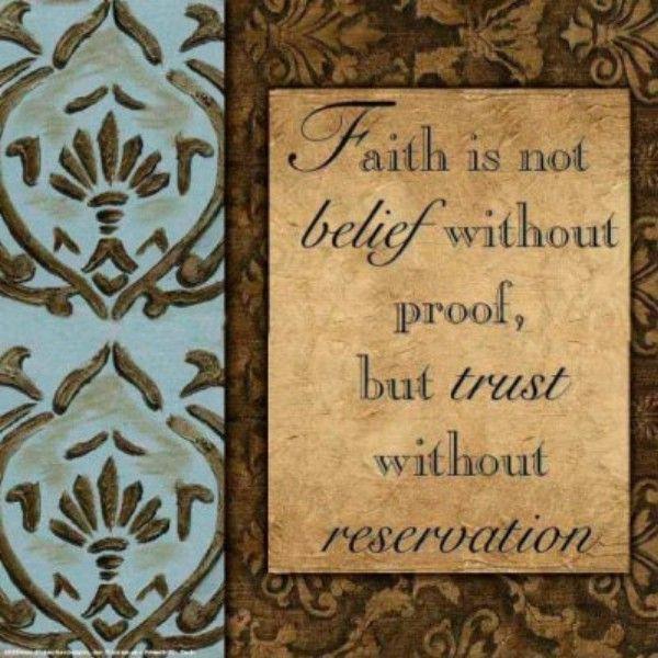 Faith definition quote