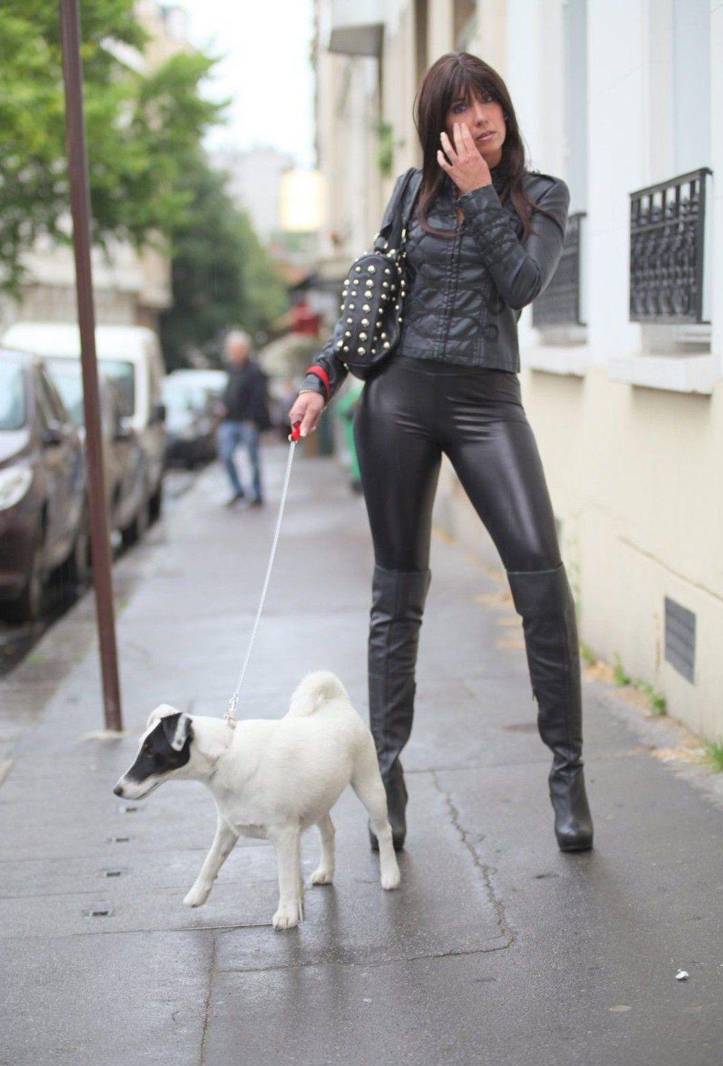 Stella Van Gent ★ Leather ★ Leggings Latex Boots