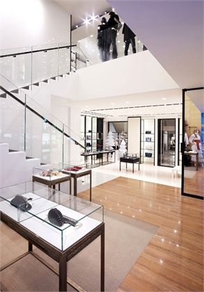 Chanel Boutique Milano Designed By Peter Marino Interior