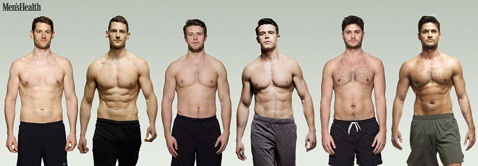 Men S Health Editors Display Their Incredible Body Transformation Mens Health Transformation Body Men S Health