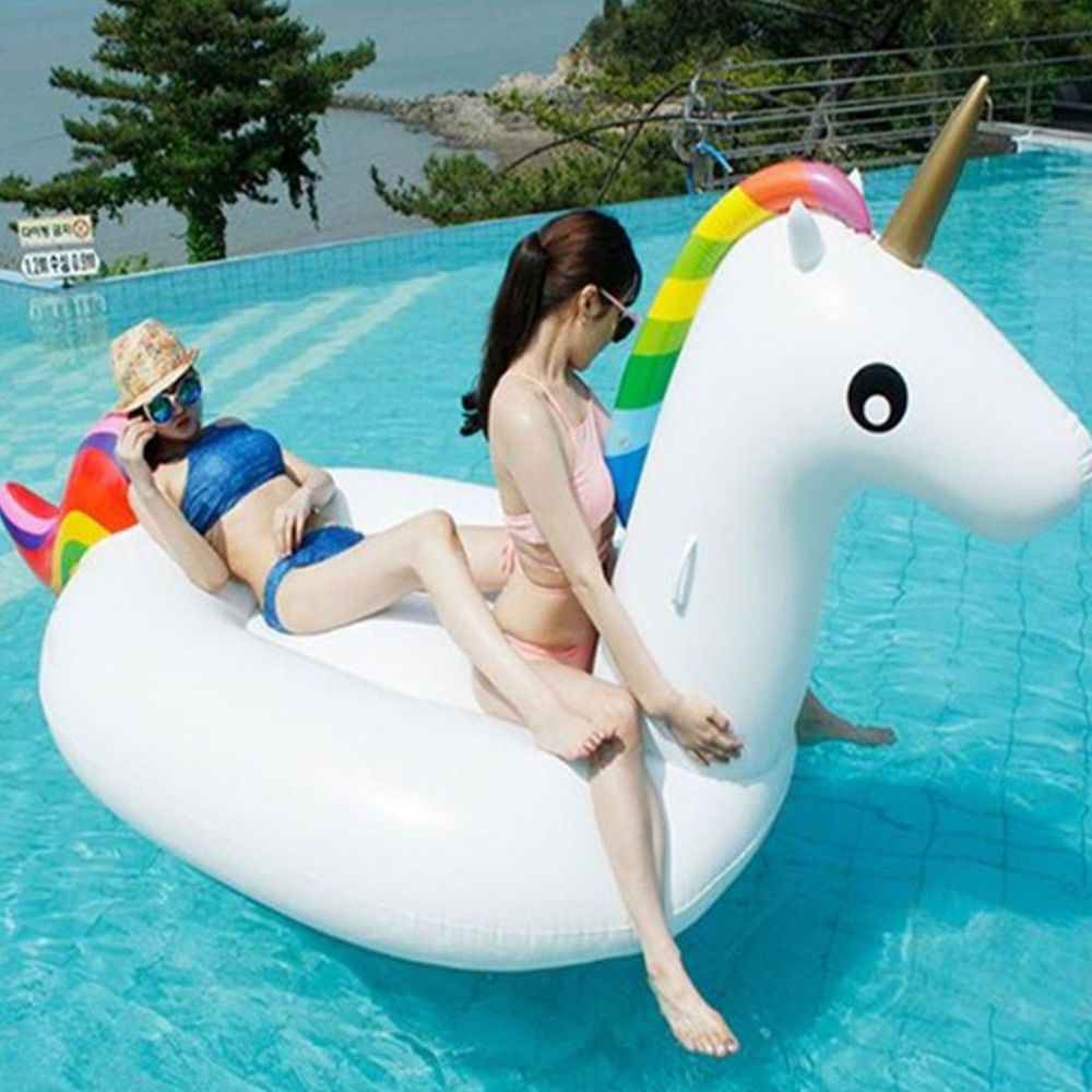 Inflatable Giant Swim Pool Floats Raft Swimming Fun Water Sports Beach Toy New