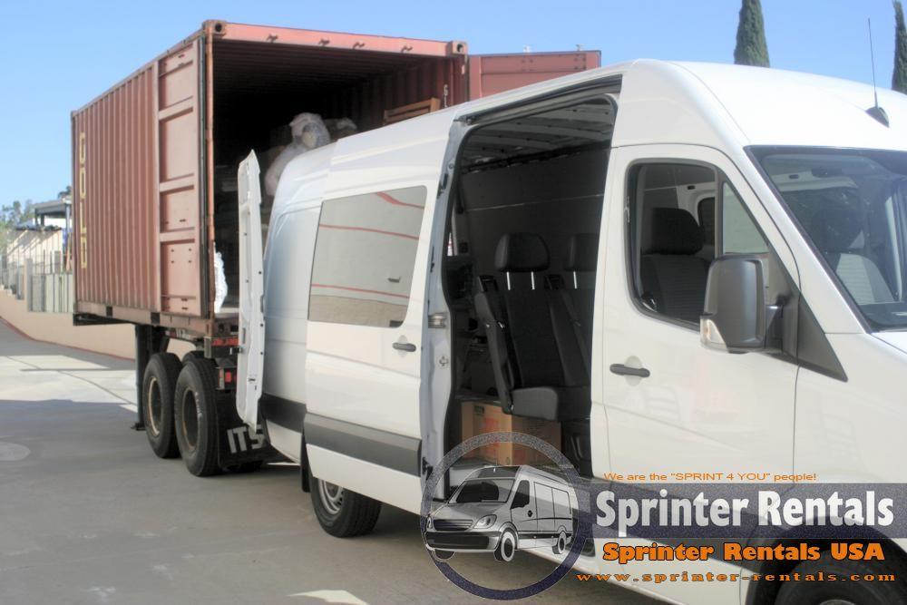 Crew cargo sprinter van 2 worlds in one haul cargo and