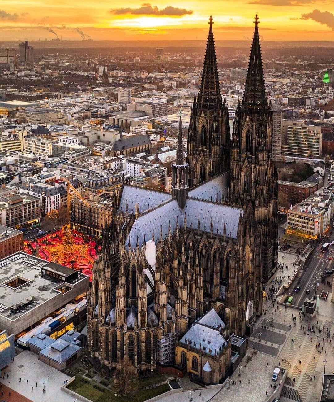 Catedral de Colonia. . Alemania. . La catedral de Colonia es un ...