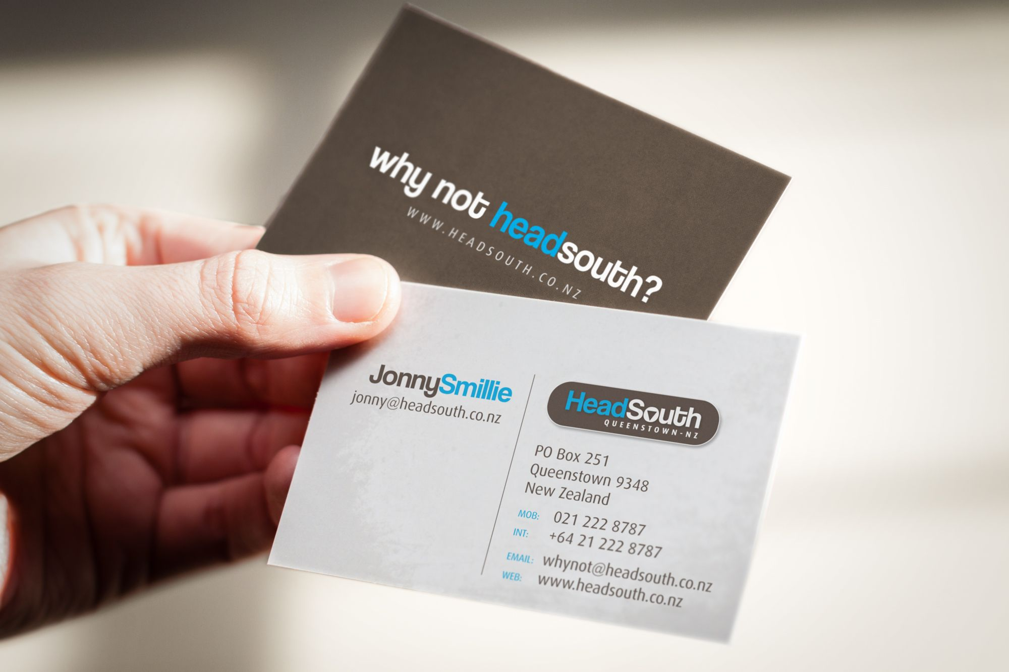Head South Business Card Design Web Graphic Design Creative Stationery Business Card Design