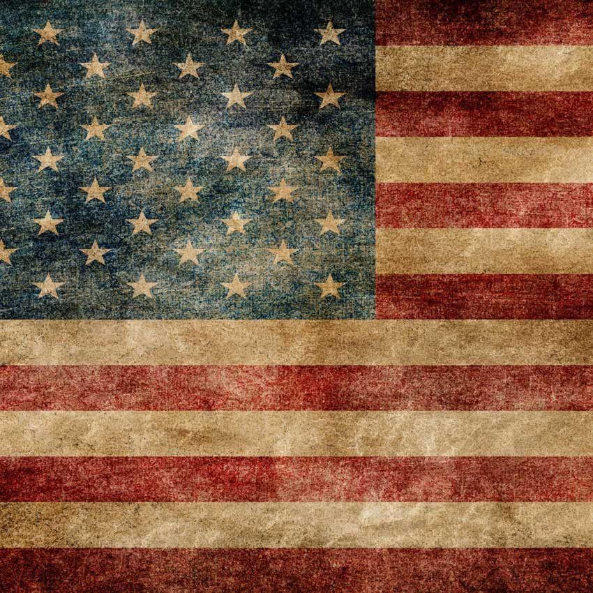 Vintage Flag Backdrop 4th July Patriotic Background 931 American Flag Background American Flag Art Flag Art