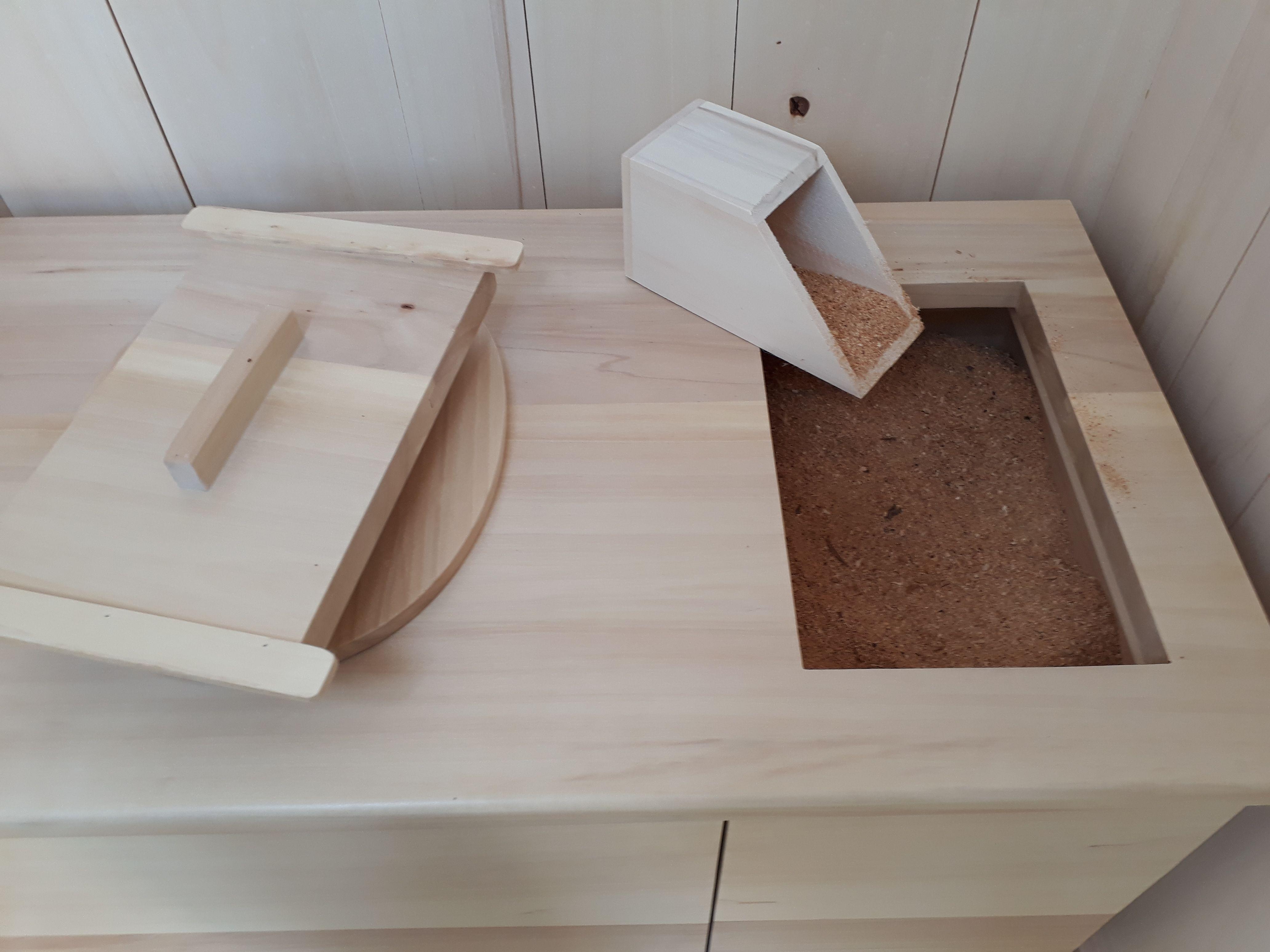Meuble Toilette Seche A Sciure Pour Cabane Toilette Seche