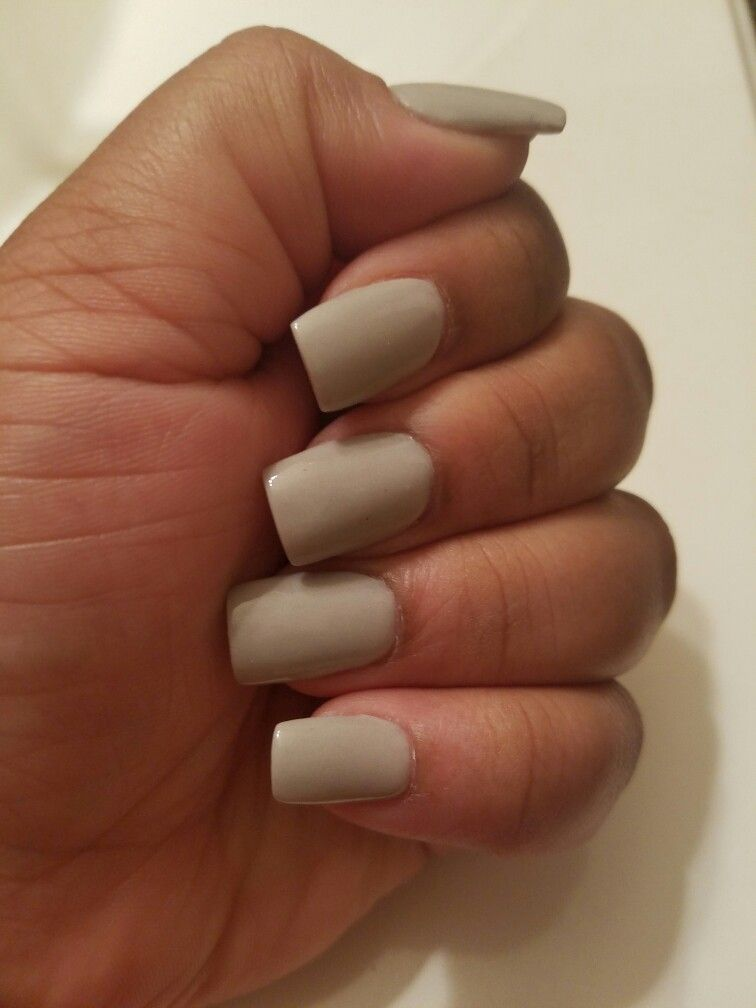 organic grey nexgen nails | Nails!!! | Pinterest | Manicure, Nail ...