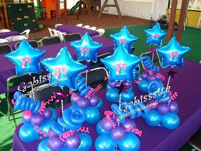 Decoracion con globos para 15 a os de estrellas buscar - Decoracion con estrellas ...