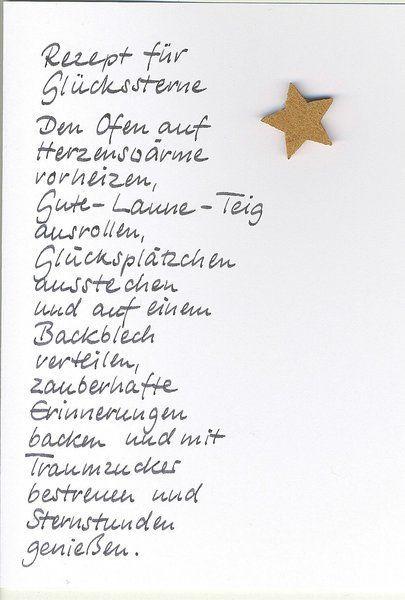 Das schönste Weihnachtsrezept #christmascards
